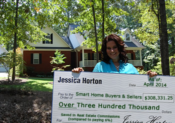Jessica Horton specializes in selling homes in the Fawnbrook subdivision in Pike County, Georgia.